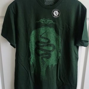 Harry Potter Nagini Shirt Medium Lootcrate Green
